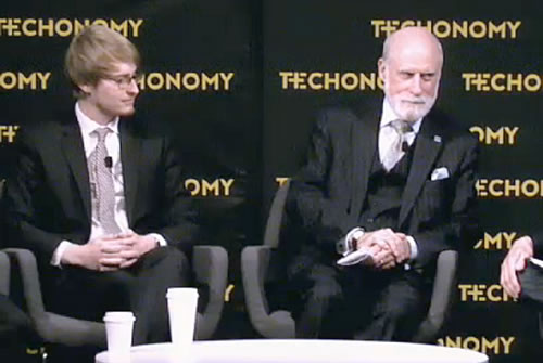 David Edelman and Vint Cerf, Techonomy Conference, June 2015