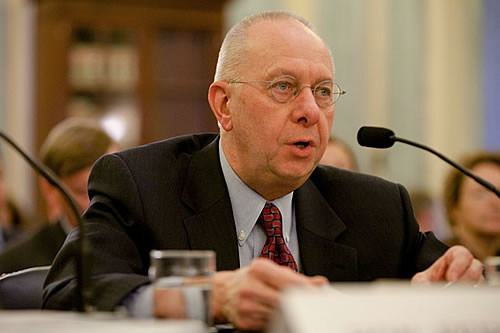 NHTSA Deputy Director Ron Medford left the agency in 2012 to join Google's self-driving car division